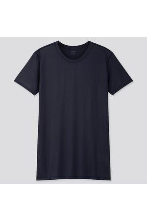 UNIQLO Men Short Sleeve - Men's Airism Crew Neck Short-Sleeve T-Shirt, , XS
