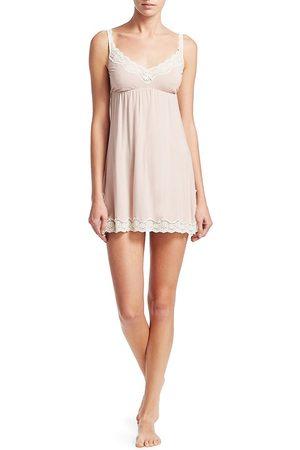 Eberjey Women Nightdresses & Shirts - Women's Lady Godiva Chemise - Clay - Size Large