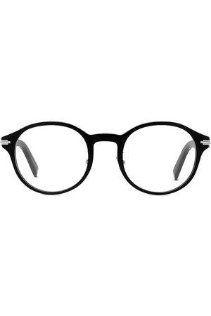 Dior Men Round - Men's DiorBlackSuit 53MM Round Glasses - Shiny