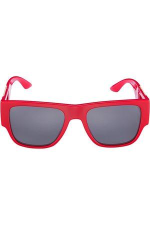 VERSACE Men Square - 58MM Square Pilot Sunglasses