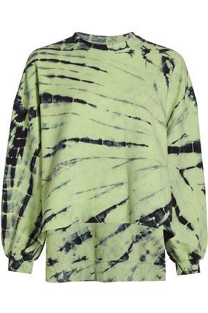 Electric & Rose Women's Neil Tie-Dye Sweatshirt - Onyx Neon - Size Medium