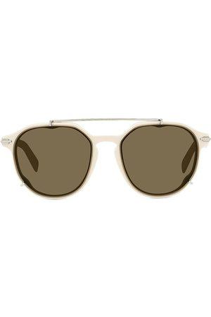 Dior Men's DiorBlackSuit 56MM Pantos Sunglasses - Ivory
