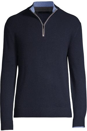 GREYSON Men Tops - Men's Sebonack Quarter-Zip Pullover - Maltese - Size Small