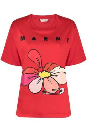 Marni WOMEN'S THJEL32EPTUSCR1400R66 COTTON T-SHIRT