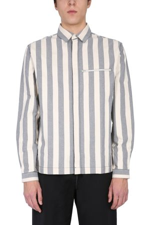 SUNNEI MEN'S MS01BCTR036R01STRIPES MULTICOLOR OTHER MATERIALS SHIRT