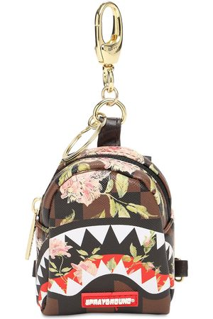 Sprayground Men Rucksacks - Shark Flower Tiny Backpack