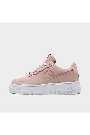 Nike Women's Air Force 1 Pixel Casual Shoes in /Particle Size 6.0 Leather