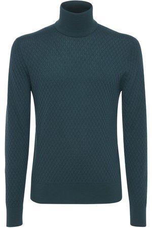 Dolce & Gabbana Men Turtlenecks - Cashmere & Silk Turtleneck Sweater