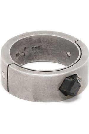 PARTS OF FOUR Sistema garnet ring - Metallic