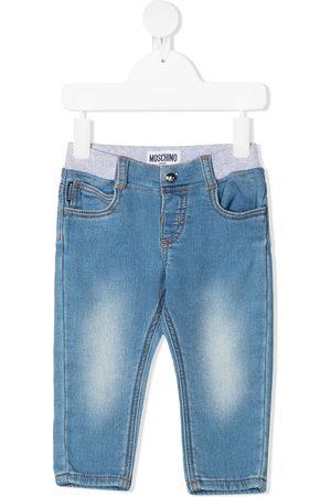 Moschino Slim - Elasticated slim-cut jeans