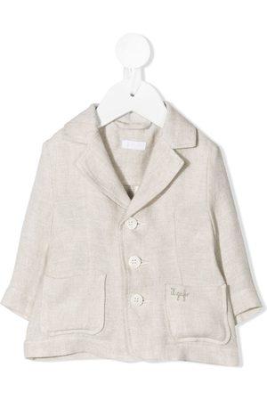 Il gufo Blazers - Button-up single-breasted blazer - Neutrals
