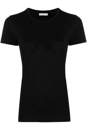 Moncler Logo-patch slim-fit T-shirt