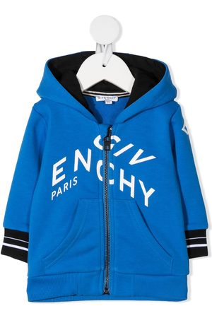 Givenchy Refracted logo-print zip-up hoodie