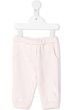 Givenchy Sweatpants - Holographic logo-print track pants