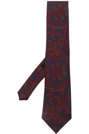 Etro Men Bow Ties - Paisley-print silk tie