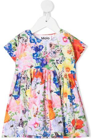 Molo Kids Hide & Seek-print mini dress