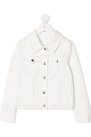 Chloé Logo patch denim jacket