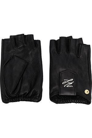 Karl Lagerfeld K/Autograph fingerless gloves