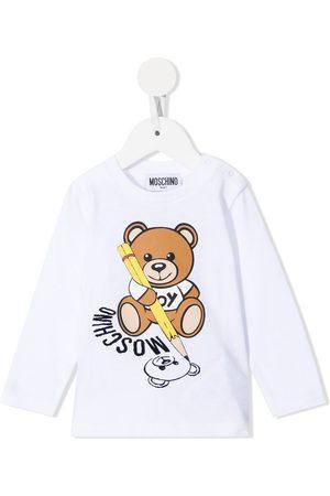 Moschino Teddy Bear long-sleeve T-shirt