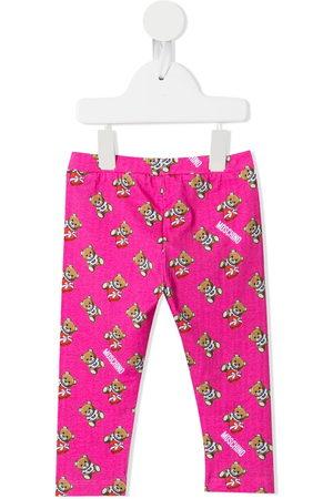 Moschino Baby Leggings - Teddy Bear print leggings