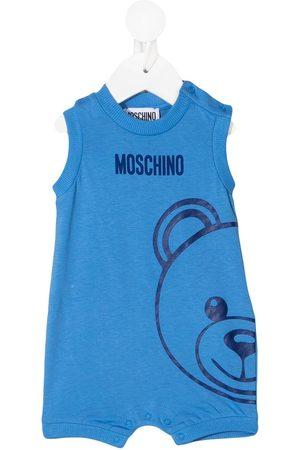 Moschino Teddy logo print bodysuit