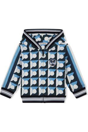 Dolce & Gabbana Printed cotton logo hoodie