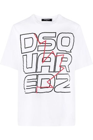 Dsquared2 Techno Leaf crew-neck T-shirt