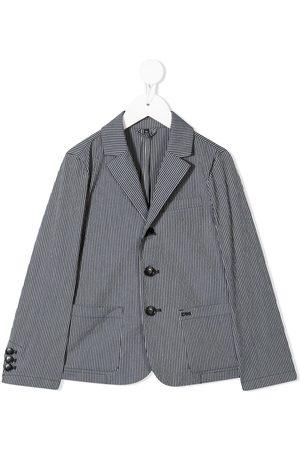 Emporio Armani Pinstripe print blazer