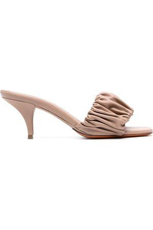 santoni Women Sandals - Leather sandals