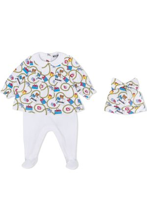 Moschino Bear-motif pyjama set