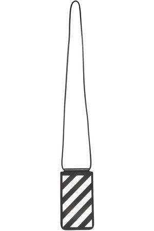 OFF-WHITE Men Phones Cases - Diag stripe phone pouch