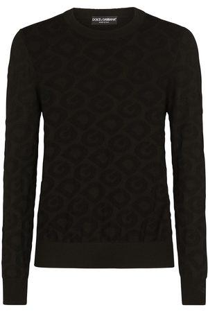 Dolce & Gabbana Men Sweatshirts - Logo-intarsia crew-neck jumper