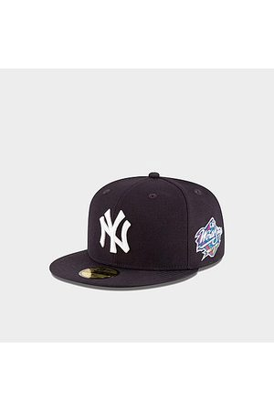 New Era Men Hats - Men's New York Yankees MLB 1998 World Series 59Fifty Fitted Hat in Navy /Navy