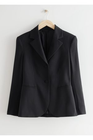 & OTHER STORIES Women Blazers - Tailored Padded Shoulder Blazer