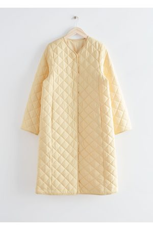 & OTHER STORIES Women Coats - Quilted Banana Sleeve Coat