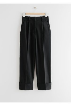 & OTHER STORIES Relaxed Fold-Up Cuff Trousers