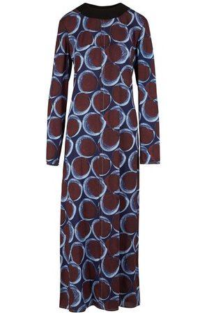 Marni Women Maxi Dresses - Long-sleeved long dress