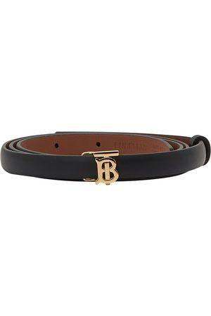 Burberry Women Belts - Full-grain calfskin belt