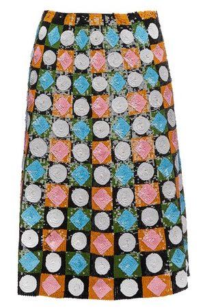 La DoubleJ Women Midi Skirts - Sequin Skirt