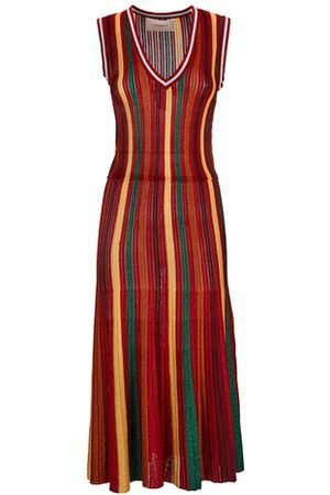 La DoubleJ Women Knitted Dresses - Accordion Knit Dress