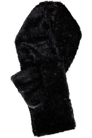 EUGENIA KIM Woman Victoria Metallic Faux Fur Scarf Size