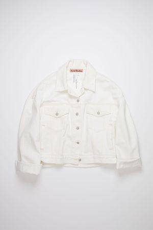 Acne Studios FN-WN-OUTW000448 Cropped denim jacket