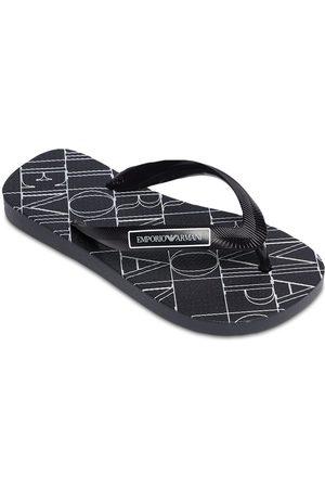 Emporio Armani Rubber Flip Flops