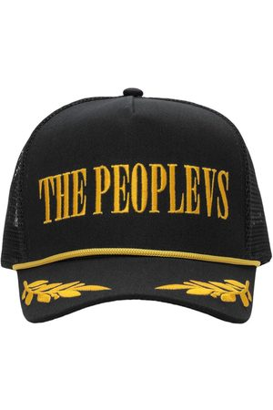 The People Vs Men Caps - Logo Embroidered Baseball Cap