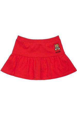 Moschino Cotton Jersey Skirt