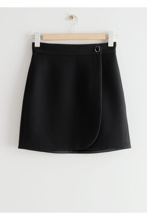 & OTHER STORIES Mini Wrap Skirt