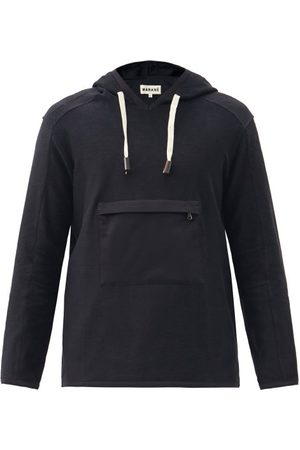 MARANÉ Men Hoodies - Cotton-twill Hooded Sweatshirt - Mens