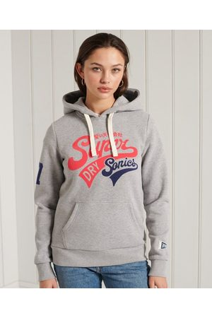 Superdry Women Hoodies - Collegiate Cali Graphic Hoodie
