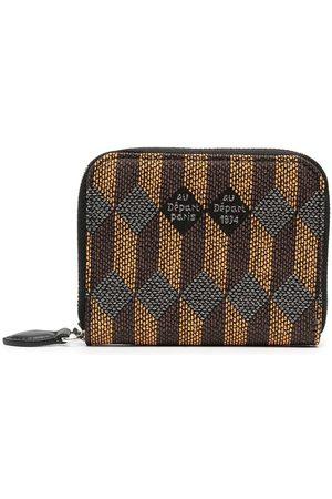 AU DEPART Women Wallets - Logo-print leather wallet