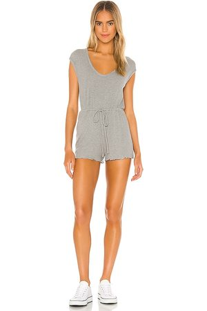 Lovers + Friends Women Playsuits - Tracey Romper in Grey.